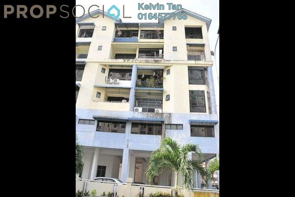 For Sale Apartment at Desa Lumba Kuda, Georgetown Freehold Semi Furnished 3R/2B 405k