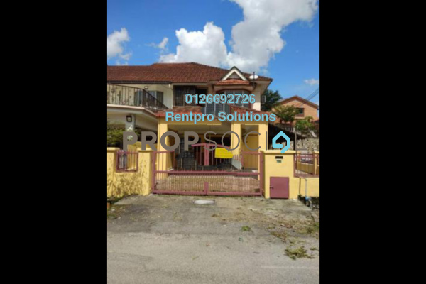 For Rent Terrace at Taman Bukit Permai, Bandar Mahkota Cheras Freehold Semi Furnished 4R/3B 1.4k