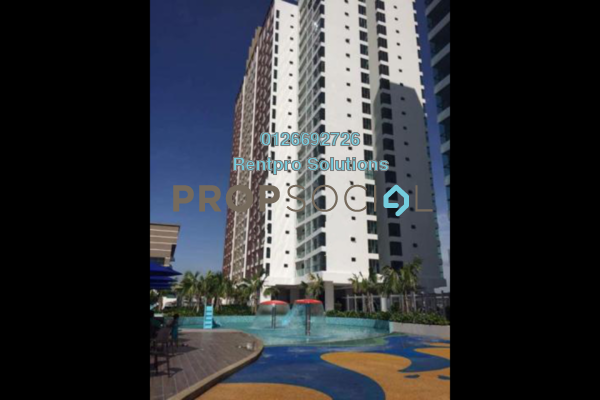 For Rent Apartment at Amerin Mall & Residence, Balakong Freehold Fully Furnished 2R/2B 1.75k