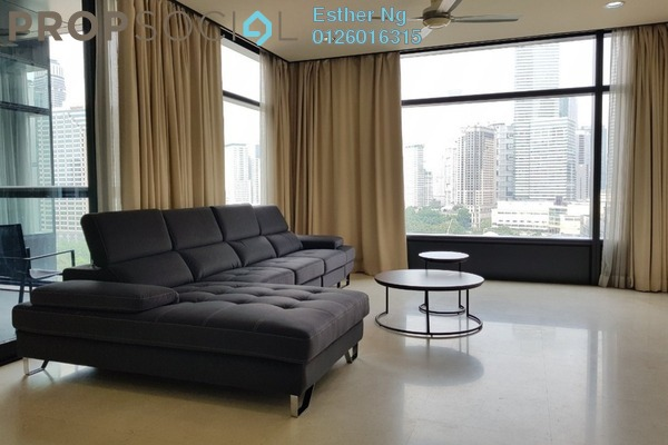 For Rent Serviced Residence at The Troika, KLCC Freehold Fully Furnished 2R/5B 7k