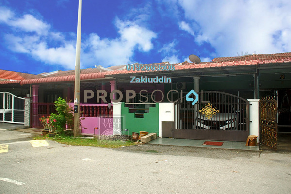 For Sale Terrace at Taman Bentara, Kuala Selangor Leasehold Semi Furnished 4R/2B 260k