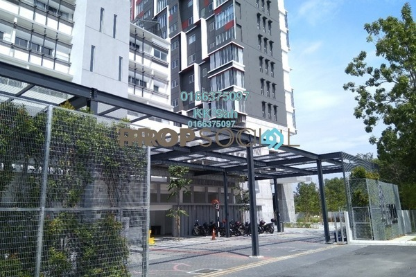 For Rent Serviced Residence at Elevia Residences, Bandar Puchong Utama Freehold Semi Furnished 3R/2B 1.5k