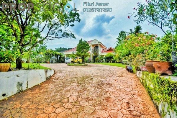 For Sale Bungalow at Section 7, Shah Alam Leasehold Fully Furnished 8R/4B 3.8m