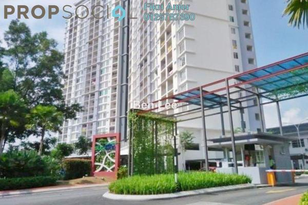 For Sale Condominium at Suasana Lumayan, Bandar Sri Permaisuri Leasehold Unfurnished 4R/2B 470k