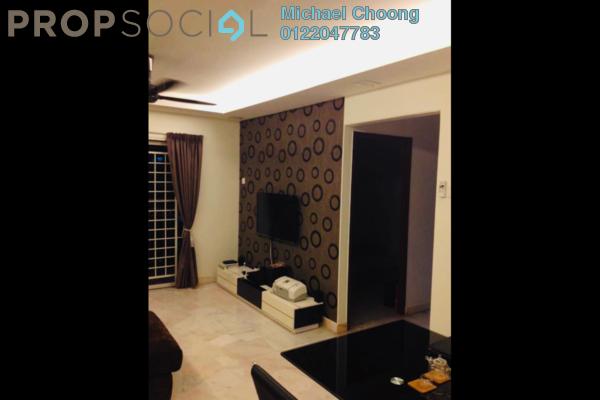 For Sale Apartment at Kenanga Apartment, Pusat Bandar Puchong Freehold Fully Furnished 3R/2B 395k
