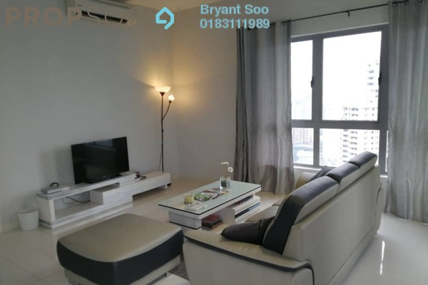 For Rent Condominium at Laman Ceylon, Bukit Ceylon Freehold Fully Furnished 1R/1B 2.8k