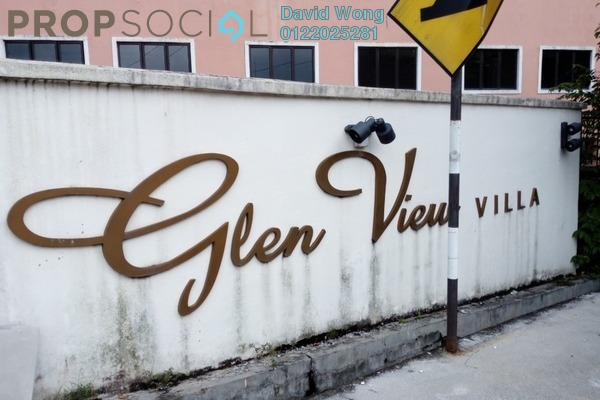 For Rent Condominium at Glen View Villa, Cheras Freehold Unfurnished 3R/2B 1k