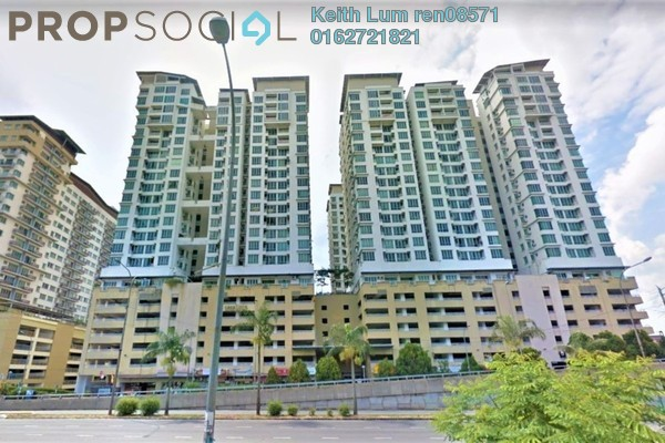 For Rent Condominium at Casa Tiara, Subang Jaya Freehold Fully Furnished 3R/2B 1.6k