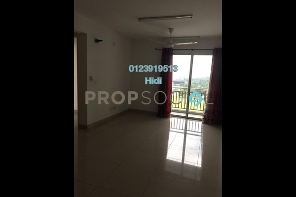 For Rent Serviced Residence at De Centrum Residences, Kajang Freehold Unfurnished 2R/2B 1.6k