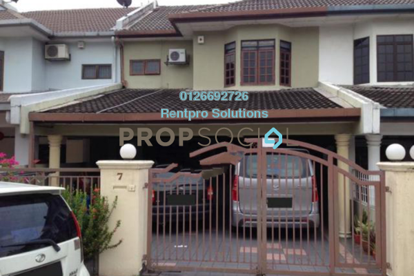 For Rent Terrace at Pandan Indah, Pandan Indah Freehold Semi Furnished 4R/3B 2.1k