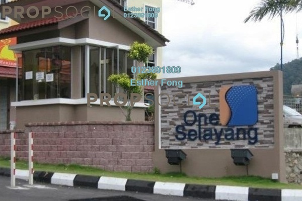 For Rent Apartment at One Selayang, Selayang Freehold Semi Furnished 3R/2B 850translationmissing:en.pricing.unit