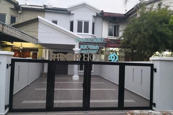 For Sale Terrace at Taman Sentosa Perdana, Klang Freehold Semi Furnished 4R/3B 465k
