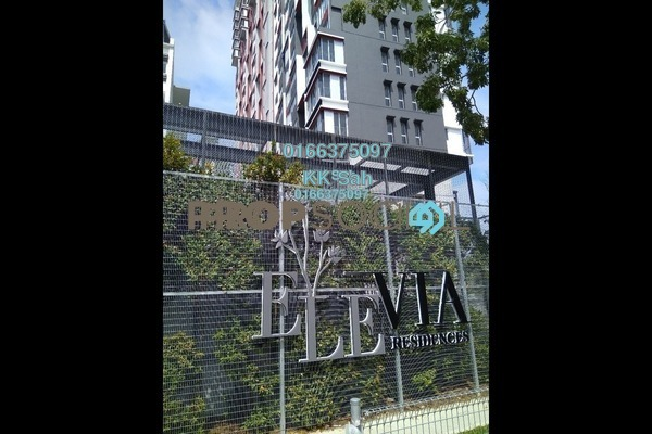 For Sale Condominium at Elevia Residences, Bandar Puchong Utama Freehold Semi Furnished 3R/2B 608k
