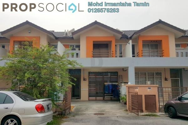 For Sale Terrace at Seri Pristana, Sungai Buloh Freehold Semi Furnished 4R/3B 450k