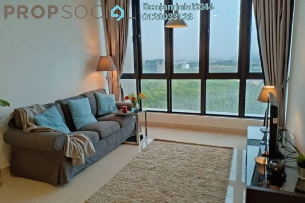 For Rent Serviced Residence at H2O Residences, Ara Damansara Freehold Semi Furnished 3R/2B 2.5k
