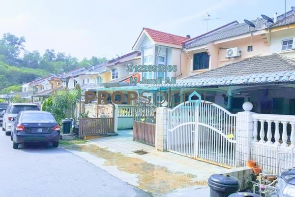For Sale Terrace at Taman Bukit Indah, Ampang Leasehold Semi Furnished 4R/3B 550k