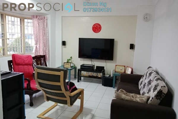 For Sale Condominium at Aman Dua, Kepong Freehold Semi Furnished 3R/2B 320k