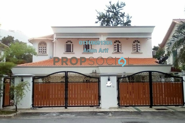 For Sale Bungalow at Taman Sri Bahtera, Cheras Freehold Semi Furnished 7R/6B 2.4m