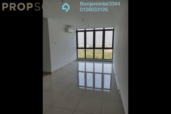 For Rent Serviced Residence at H2O Residences, Ara Damansara Freehold Semi Furnished 3R/2B 1.8k