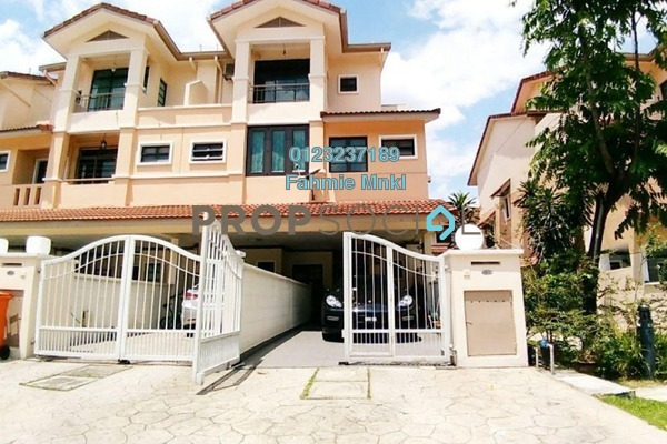For Sale Townhouse at Parkville Garden Townhouse, Sunway Damansara Leasehold Semi Furnished 3R/3B 1.18m