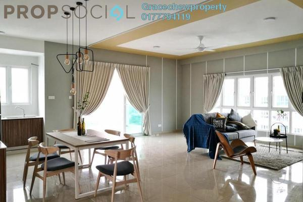 For Rent Apartment at Seasons Luxury Apartments, Johor Bahru Freehold Fully Furnished 3R/3B 2.2k