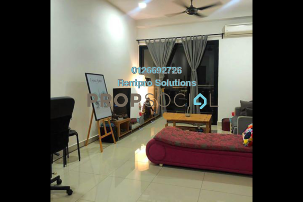 For Rent Condominium at Glomac Centro, Bandar Utama Freehold Fully Furnished 3R/3B 2.3k