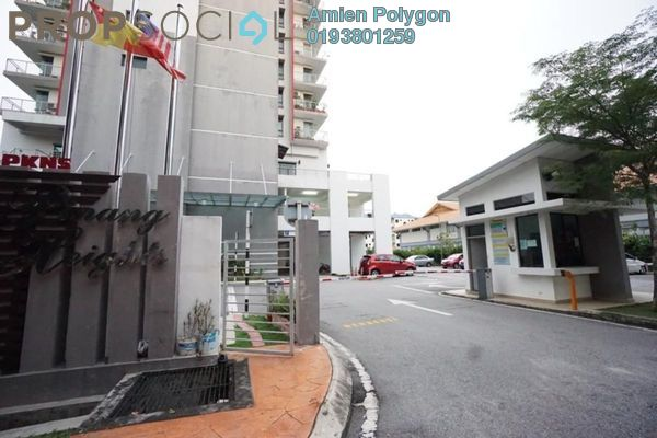For Sale Condominium at Pinang Heights, Shah Alam Leasehold Unfurnished 4R/2B 490k