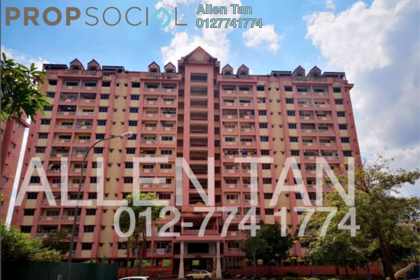 For Rent Apartment at Anggerik Villa 2, Kajang Freehold Fully Furnished 4R/3B 1.2k