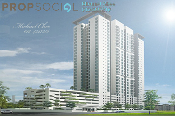 For Sale Condominium at Straits Garden, Jelutong Freehold Unfurnished 3R/2B 590k