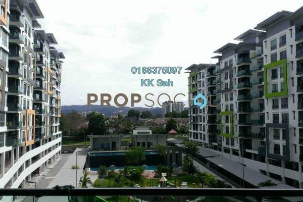 For Rent Condominium at Mahkota Garden Condominium, Bandar Mahkota Cheras Freehold Semi Furnished 4R/3B 1.3k