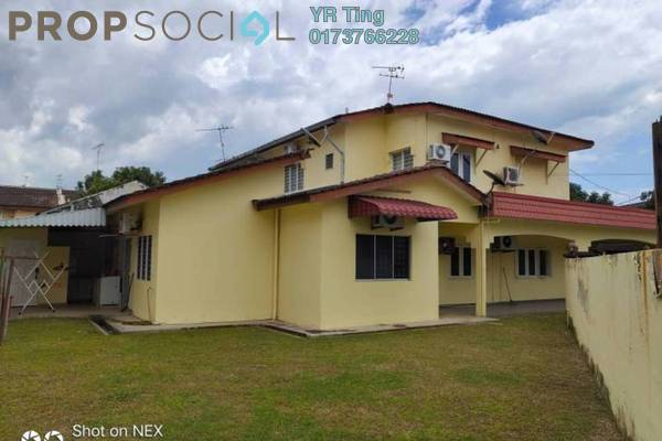 For Rent Semi-Detached at Taman Kenanga, Bandar Melaka Freehold Semi Furnished 5R/3B 1.45k