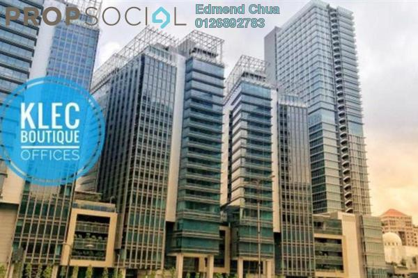 For Rent Office at KL Eco City, Mid Valley City Freehold Unfurnished 0R/0B 15.1k