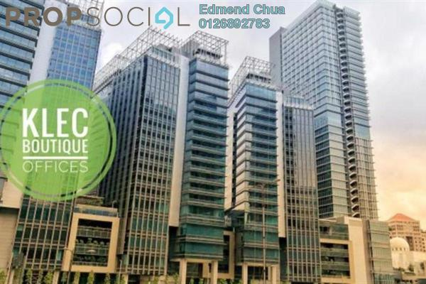 For Rent Office at KL Eco City, Mid Valley City Freehold Unfurnished 0R/0B 19.9k