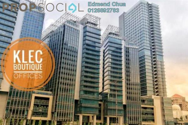 For Rent Office at KL Eco City, Mid Valley City Freehold Unfurnished 0R/0B 19.7k