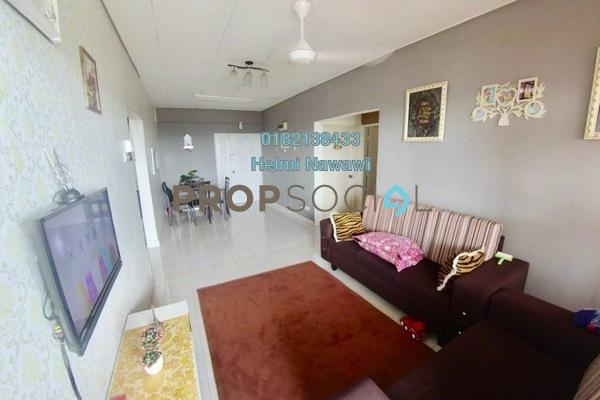 For Sale Condominium at Laguna Biru, Rawang Freehold Semi Furnished 3R/2B 185k