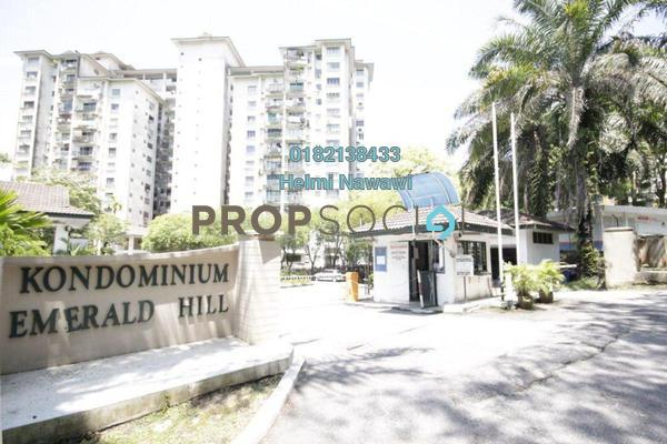 For Sale Condominium at Emerald Hill, Ampang Freehold Semi Furnished 3R/2B 360k