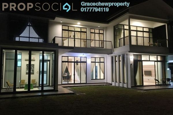 For Rent Bungalow at The Fairway, Sebana Cove Resort Freehold Semi Furnished 4R/4B 8.0千