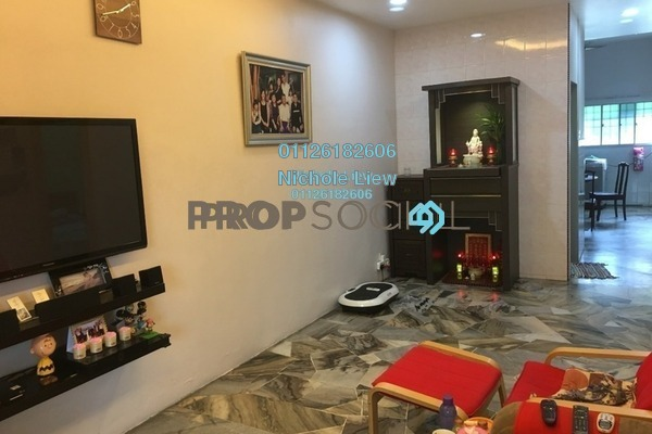 For Sale Link at Taman Megah, Cheras South Freehold Semi Furnished 3R/2B 470k