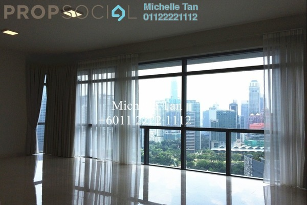 For Rent Serviced Residence at Panorama, KLCC Freehold Semi Furnished 3R/3B 8.5k