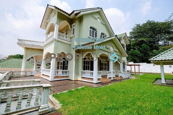 For Sale Bungalow at Kayangan Heights, Shah Alam Leasehold Semi Furnished 9R/7B 2.85m