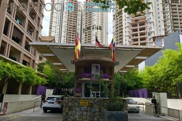For Sale Apartment at Seri Maya, Setiawangsa Freehold Semi Furnished 3R/2B 423k