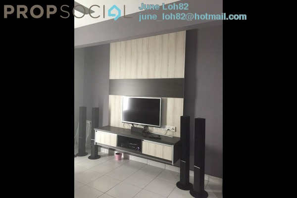 For Rent Condominium at First Residence, Kepong Freehold Semi Furnished 3R/2B 1.8k