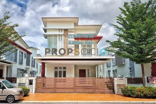 For Sale Bungalow at CasaIdaman, Setia Alam Freehold Unfurnished 6R/6B 1.73m