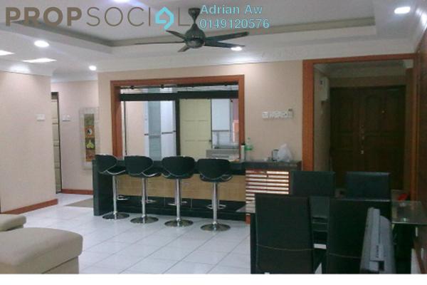 For Sale Condominium at City Gardens, Bukit Ceylon Freehold Semi Furnished 3R/2B 680k