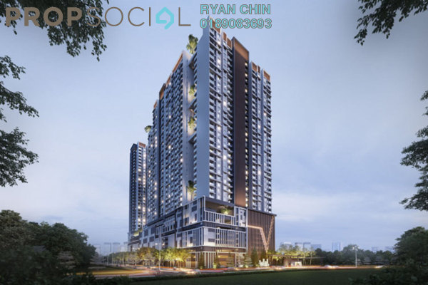 For Sale Condominium at Verando Residence, Petaling Jaya Leasehold Semi Furnished 3R/2B 469k