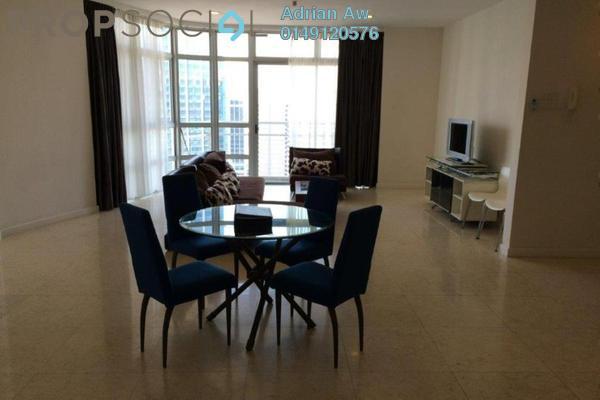 For Sale Condominium at Idaman Residence, KLCC Freehold Semi Furnished 3R/3B 1.75m