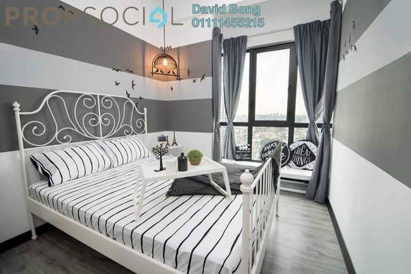 For Rent Condominium at D'Sands Residence, Old Klang Road Freehold Fully Furnished 1R/1B 1k