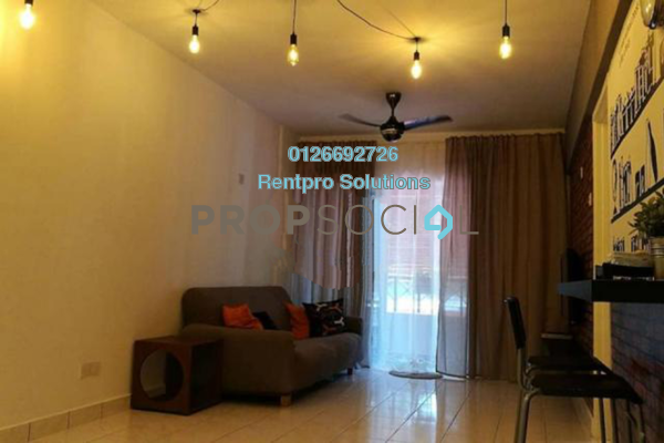 For Rent Apartment at Arena Green, Bukit Jalil Freehold Fully Furnished 2R/2B 1.8k