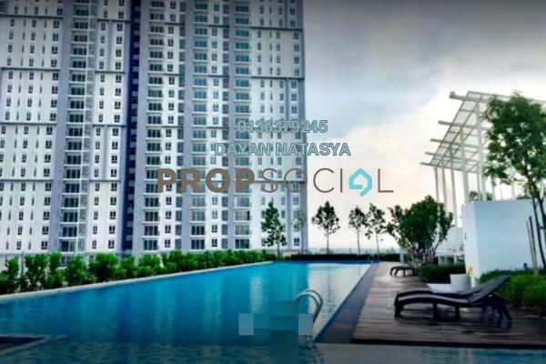 For Sale Condominium at Verdi Eco-dominiums, Cyberjaya Freehold Semi Furnished 1R/1B 454k