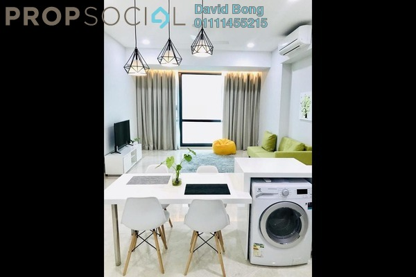 For Rent Condominium at Vogue Suites One @ KL Eco City, Mid Valley City Freehold Fully Furnished 2R/1B 3.5k